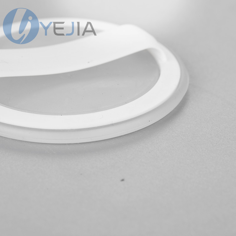 transparent round clear cosmetic silicone puff