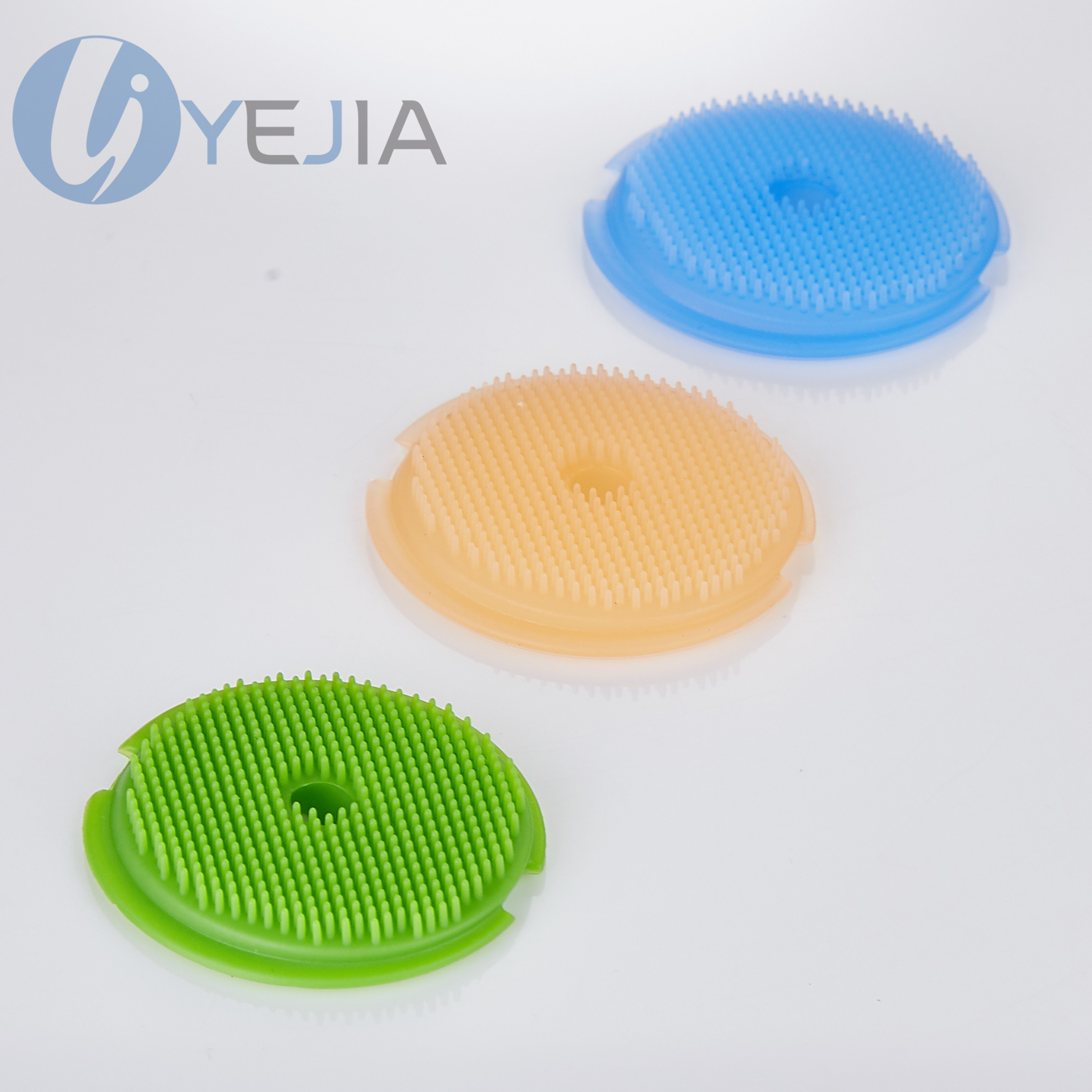 超级柔软深层清洁硅胶洁面刷,食品级硅胶原料,通过皮肤过敏性测试