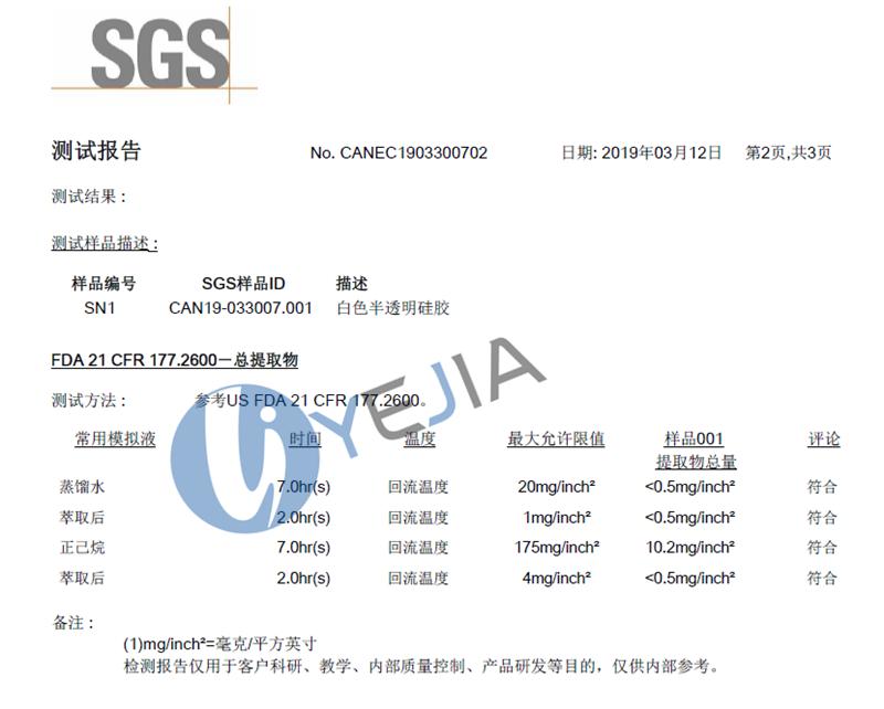 HTV-9930系列 FDA认证