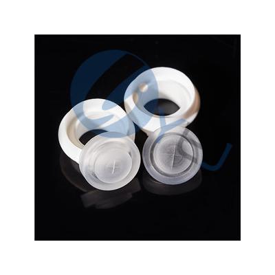 高品质食品级LSR液态射出流量控制硅胶阀,单向挤出无滴漏硅胶阀门