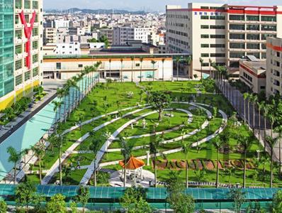 烨嘉光电园区花园
