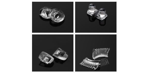 硅胶透镜 PC透镜 PMMA透镜有何区别?