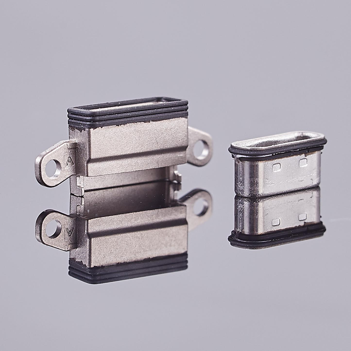 电子防水结构设计,防水Type-C,硅胶二次成型