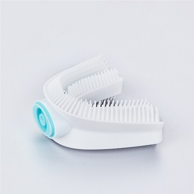 食品级液态硅胶U形口含式电动硅胶牙刷