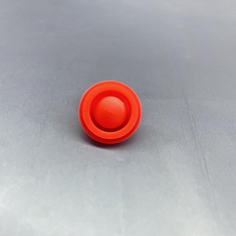 单向硅胶阀 一字硅胶阀 红色硅胶管阀