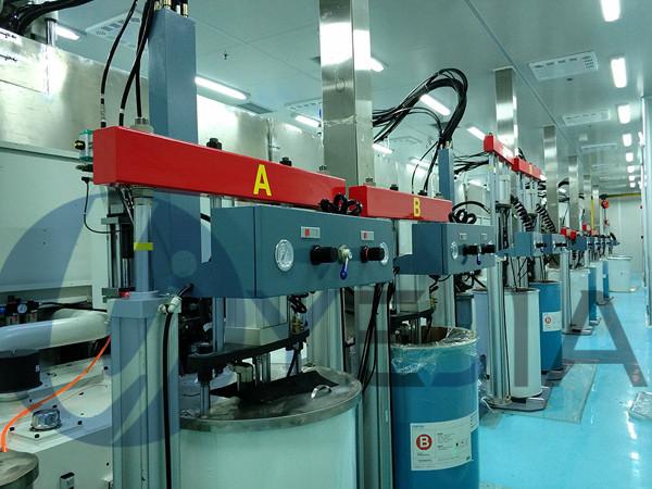 烨嘉光电液态硅胶注塑机生产设备